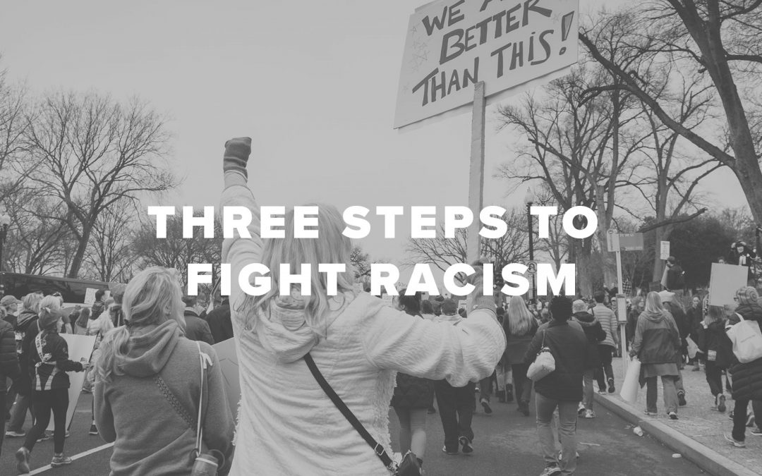 Three Steps to Fight Racism