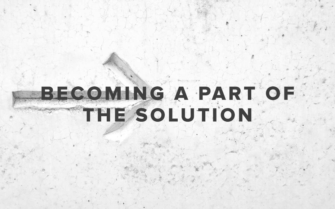 Rusty George - Becoming A Part of the Solution