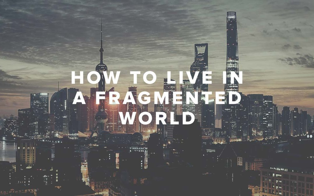 How To Live In A Fragmented World