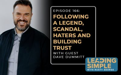 Episode 166: Dave Dummitt talks following a legend, scandal, dealing with haters and trust