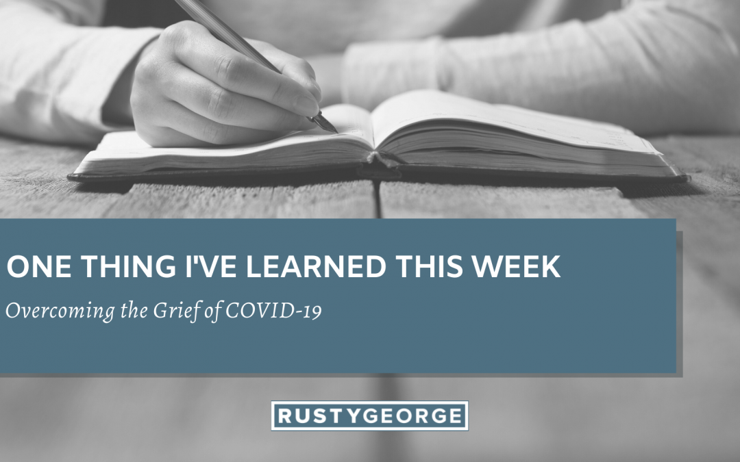 Overcoming the Grief of COVID-19